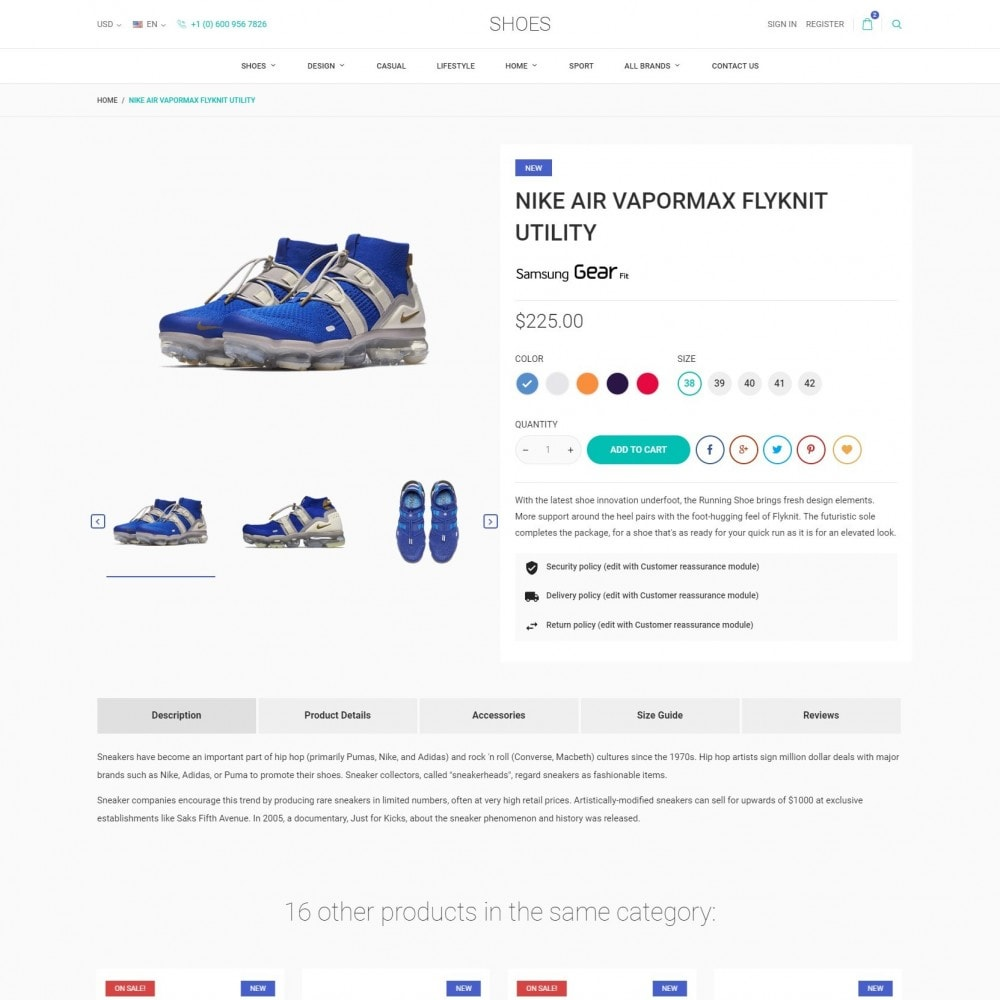 theme - Fashion & Shoes - World Footwear - Shoes Store - 5