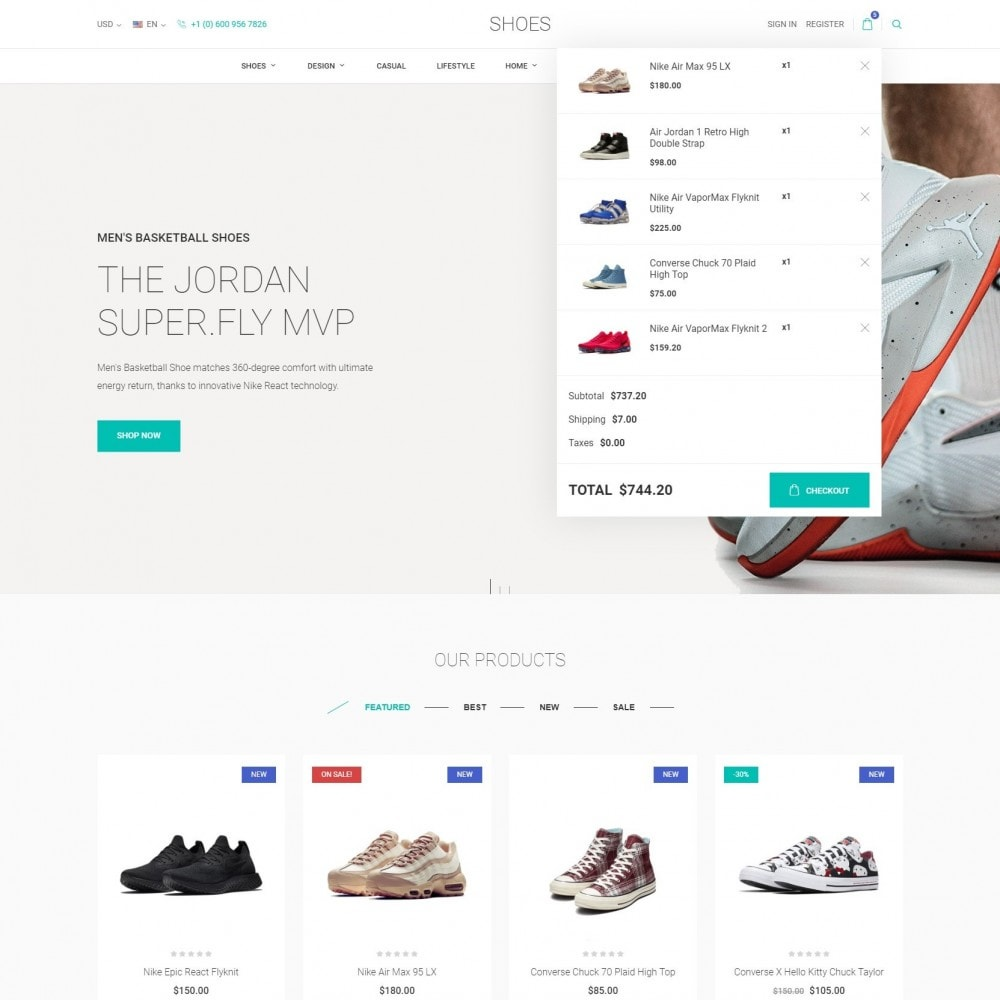 theme - Fashion & Shoes - World Footwear - Shoes Store - 6