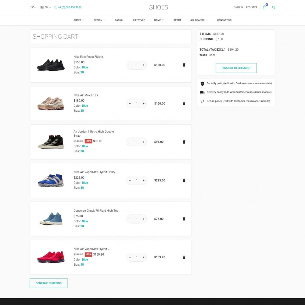 theme - Fashion & Shoes - World Footwear - Shoes Store - 7