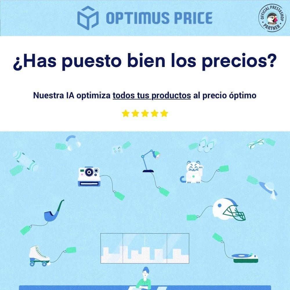 module - Gestión de Precios - Pon los precios óptimos con Optimus Price - 1