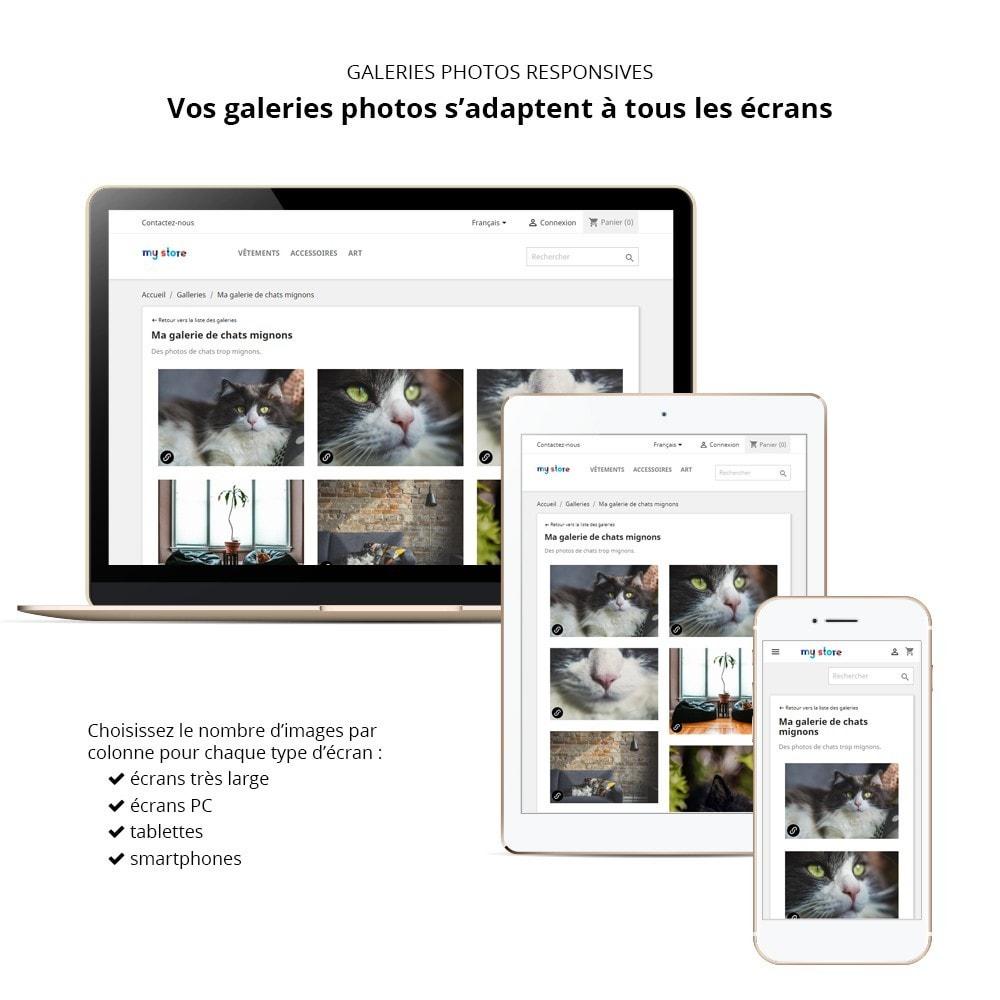 module - Sliders & Galeries - Galerie Photo Responsive - 1