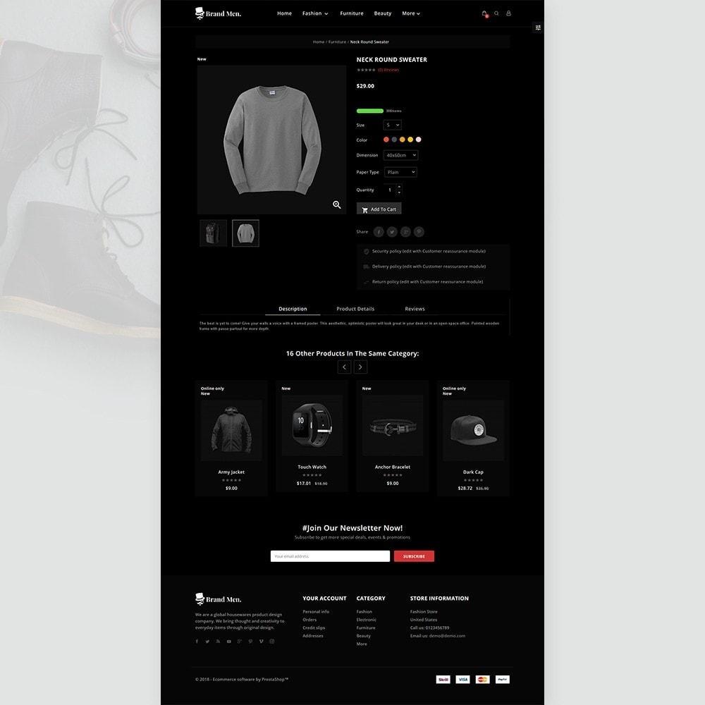 theme - Fashion & Shoes - Brand Men–Fashion Store - 4