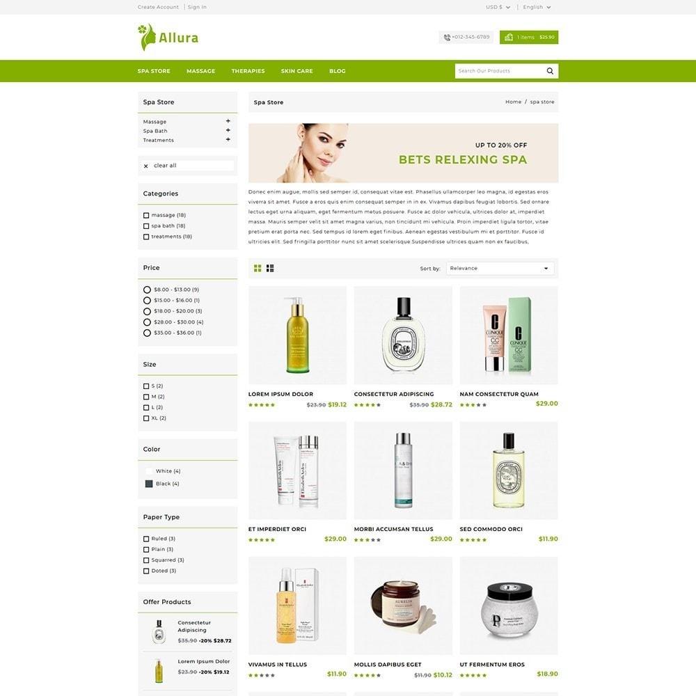 theme - Zdrowie & Uroda - Allura Cosmatics Shop - 3