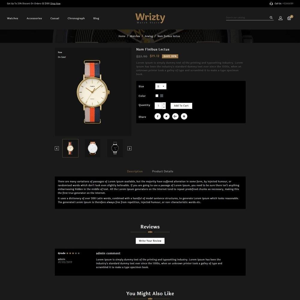 theme - Biżuteria & Akcesoria - Wrizty Watch Store - 4