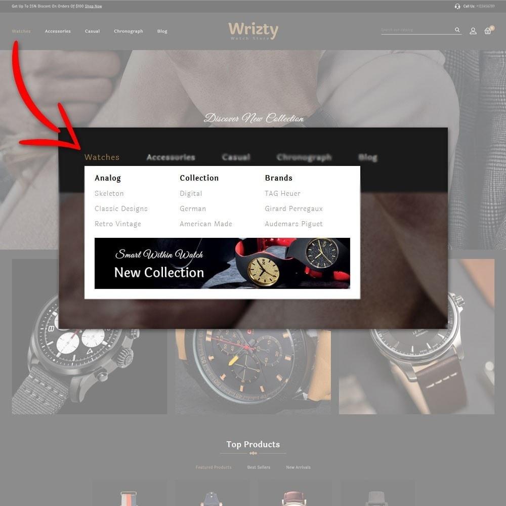 theme - Biżuteria & Akcesoria - Wrizty Watch Store - 7