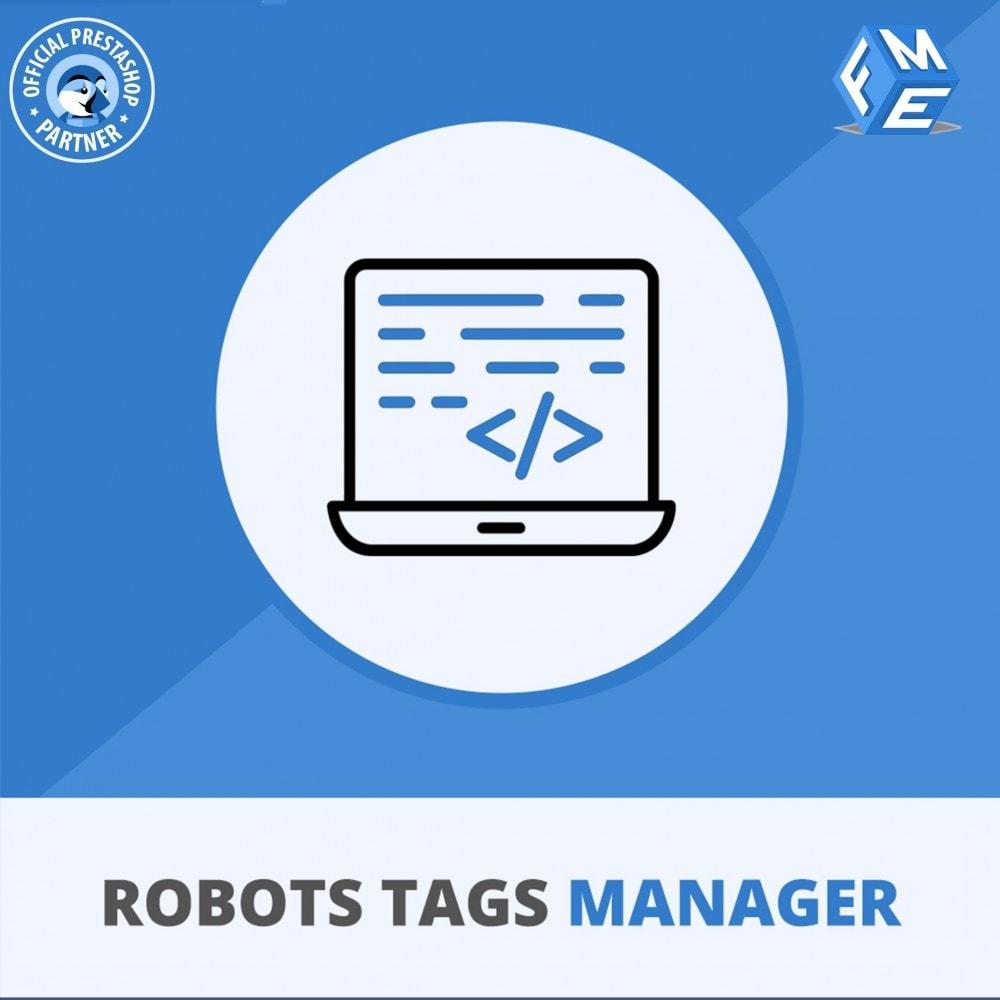 module - SEO - Meta Robot Tags - NoFollow NoIndex Manager - 1