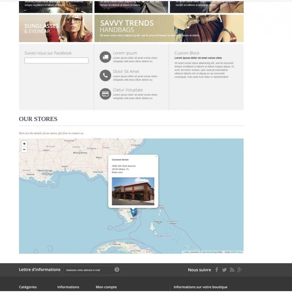 module - International & Localisation - Bloc carte des magasins (sans Googlemap) - 1