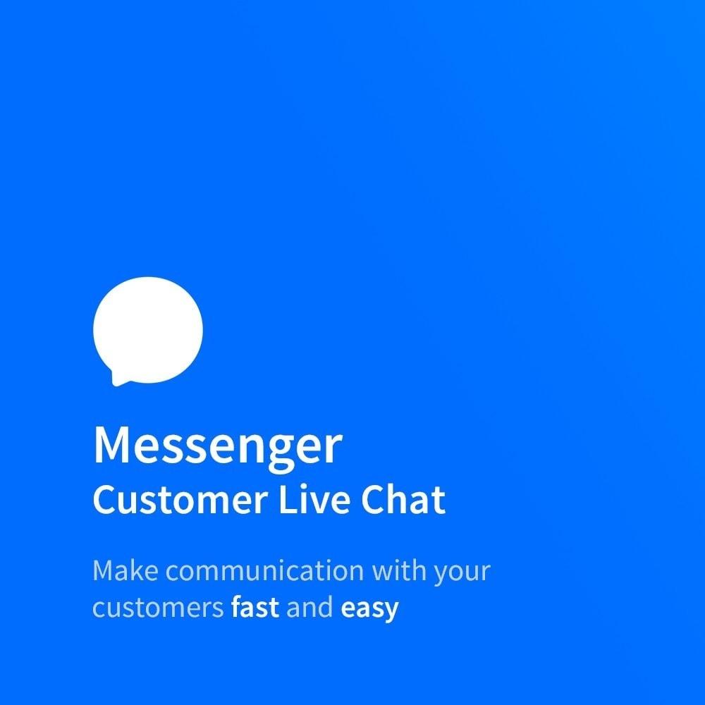 module - Поддержка и онлайн-чат - Messenger - Customer Live Chat - 1