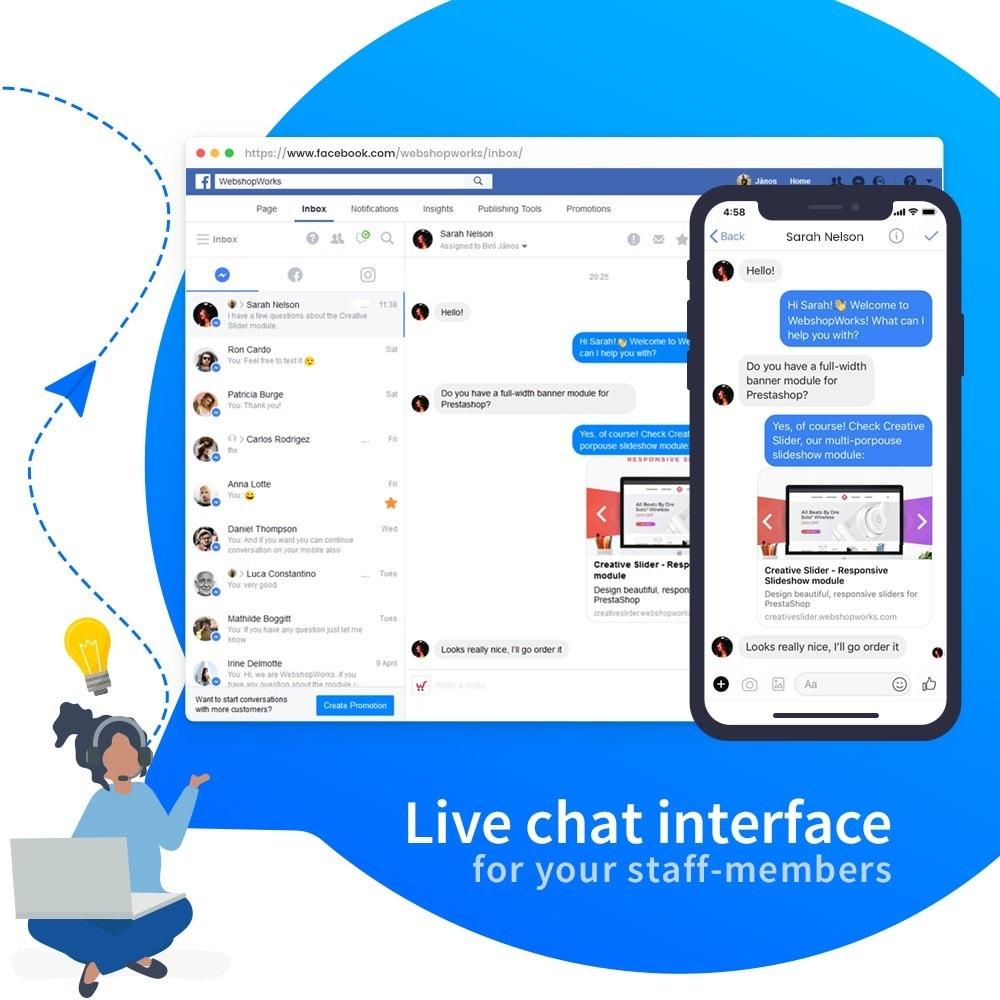 module - Поддержка и онлайн-чат - Messenger - Customer Live Chat - 4