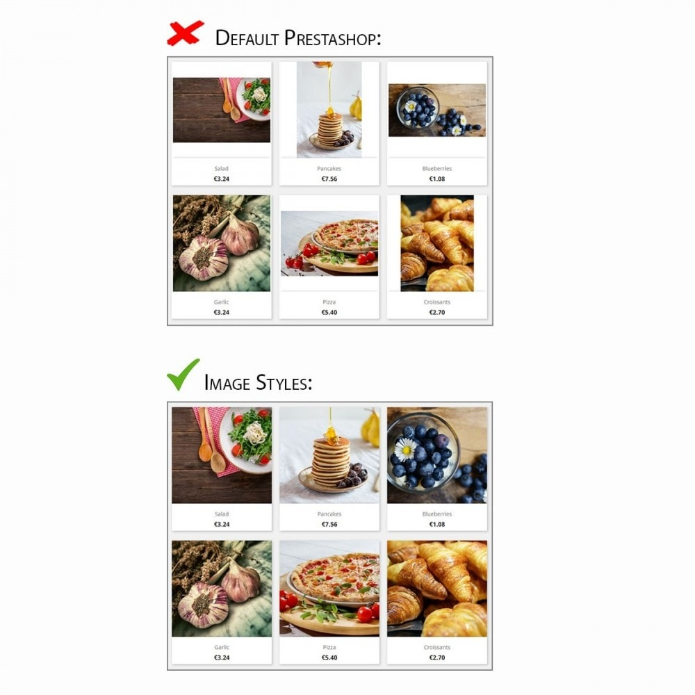 module - Visual dos produtos - Image Styles - 2
