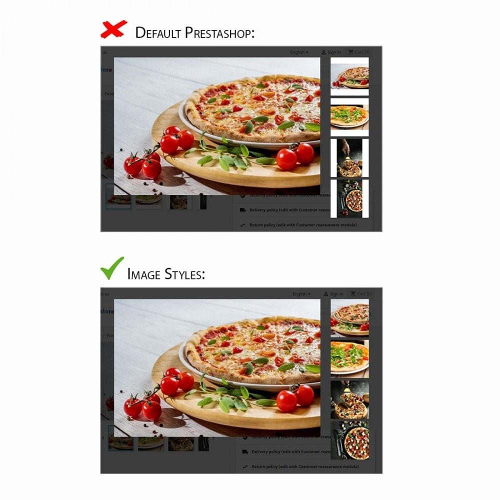 module - Visual dos produtos - Image Styles - 3