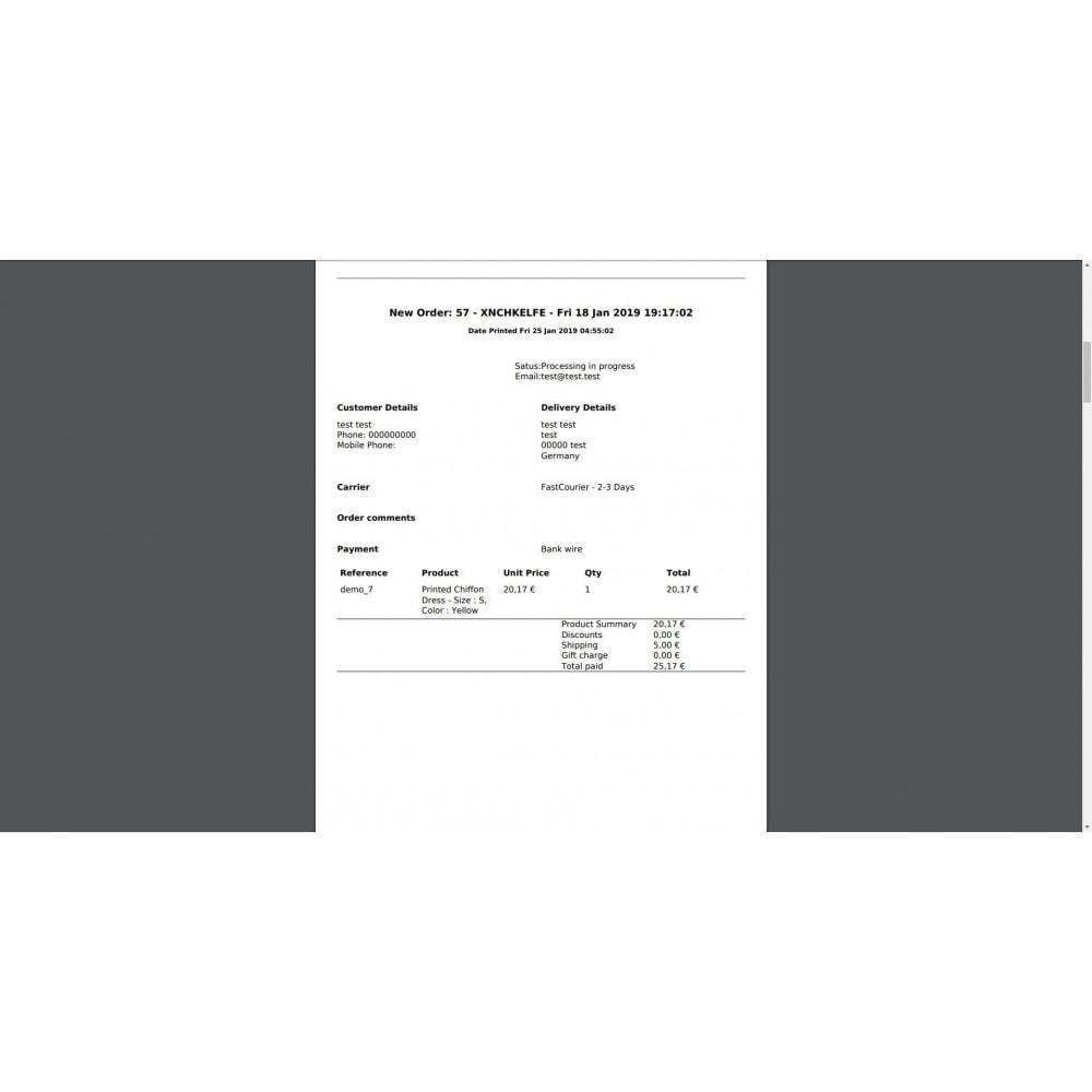 module - Order Management - Mass Print Order Details - 5