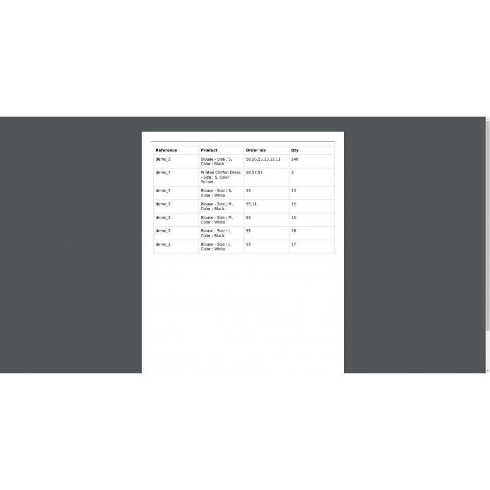 module - Order Management - Mass Print Order Details - 7