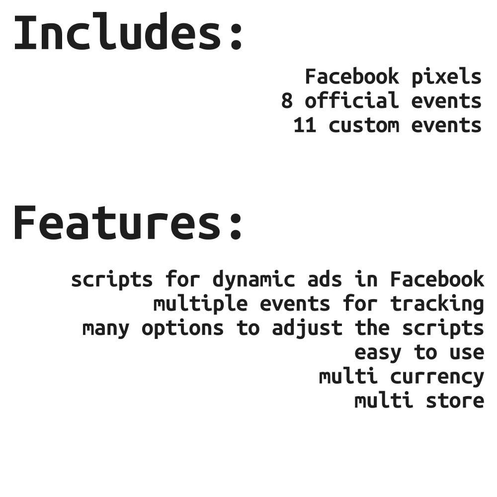 module - Produkte in Facebook & sozialen Netzwerken - Social Network Pixel (with Conversions API & GDPR) - 2