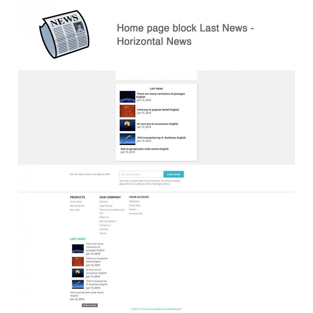 module - Blog, Forum & Actualités - Nouvelles simple + - 4