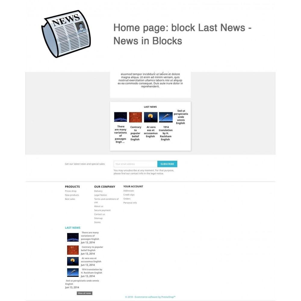 module - Blog, Forum & Actualités - Nouvelles simple + - 6