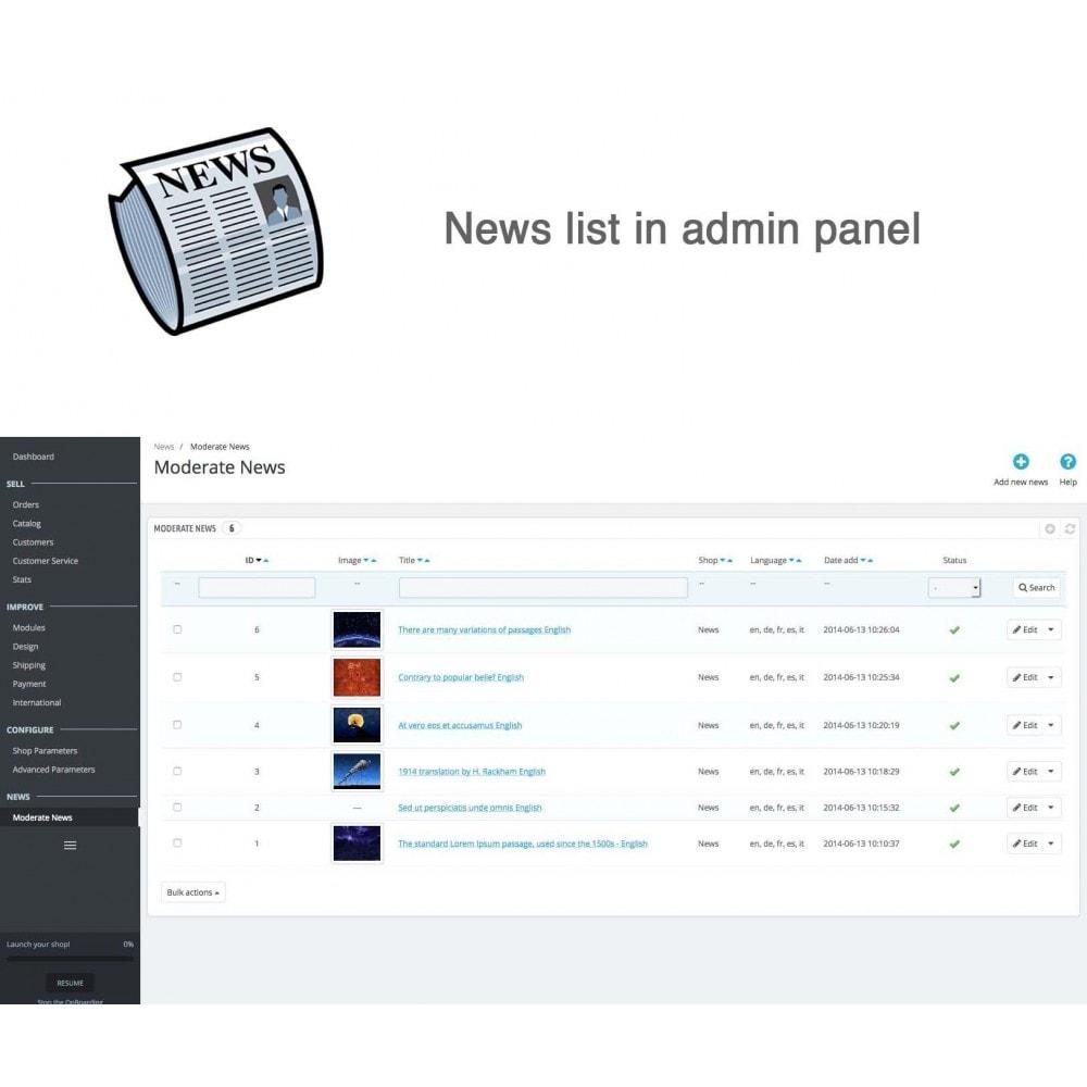 module - Blog, Forum & Actualités - Nouvelles simple + - 9