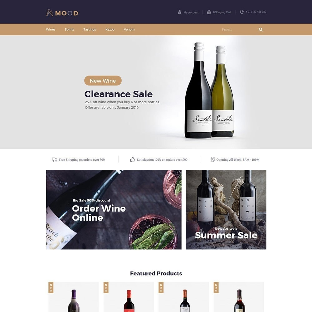 theme - Drink & Tobacco - Mood Wine - Drink Store - 2
