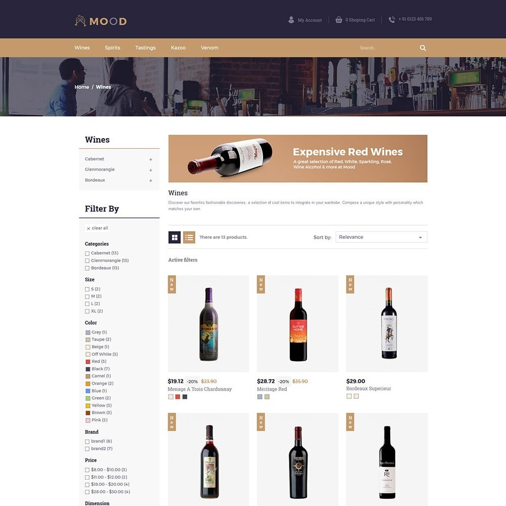theme - Drink & Tobacco - Mood Wine - Drink Store - 4
