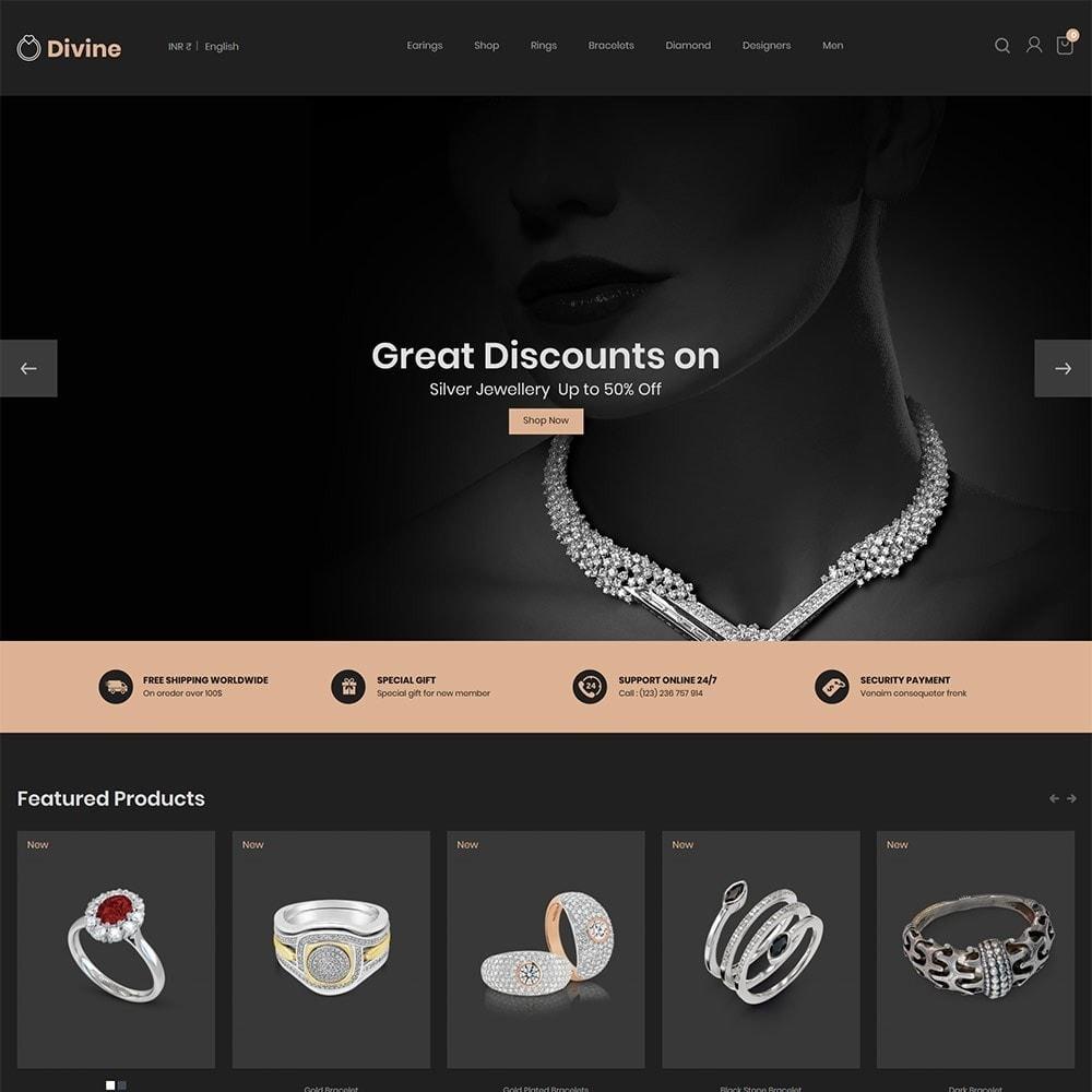 theme - Jewelry & Accessories - Jewellery  Diamond  Gold  Silver - Luxury  Store - 2