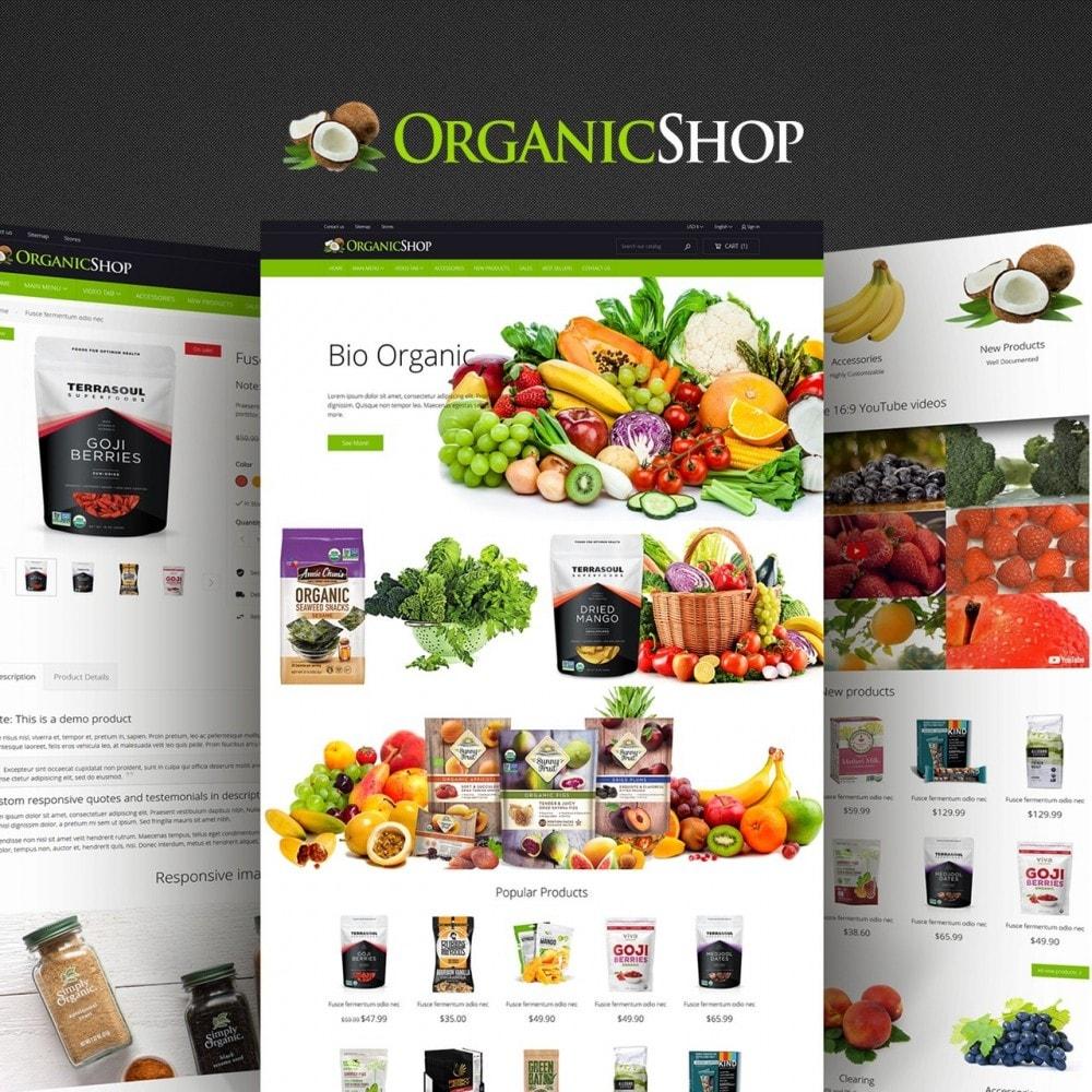 theme - Cibo & Ristorazione - Organic Shop - 1