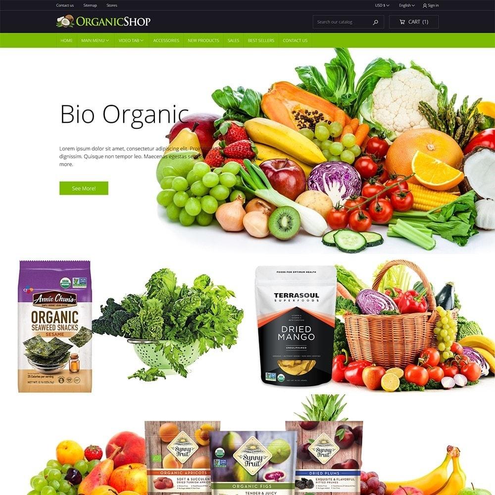theme - Cibo & Ristorazione - Organic Shop - 2