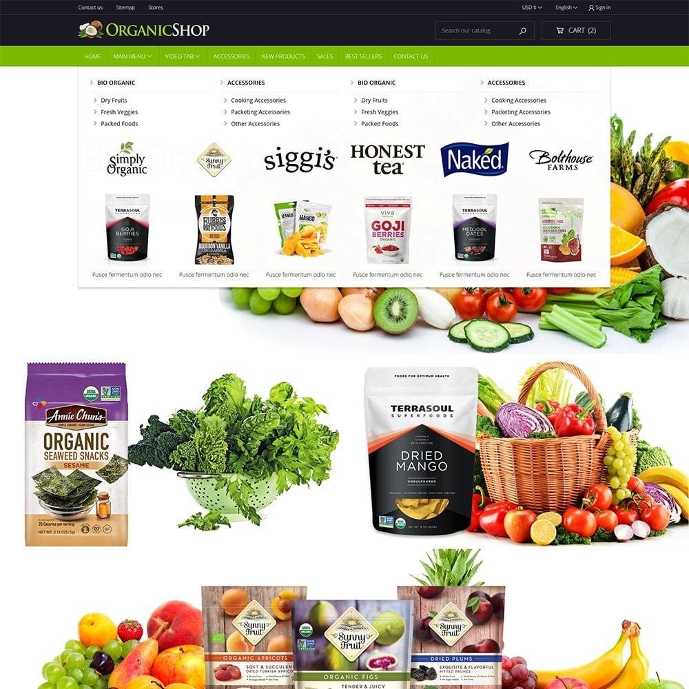 theme - Cibo & Ristorazione - Organic Shop - 3