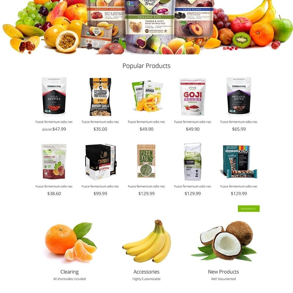 theme - Cibo & Ristorazione - Organic Shop - 4