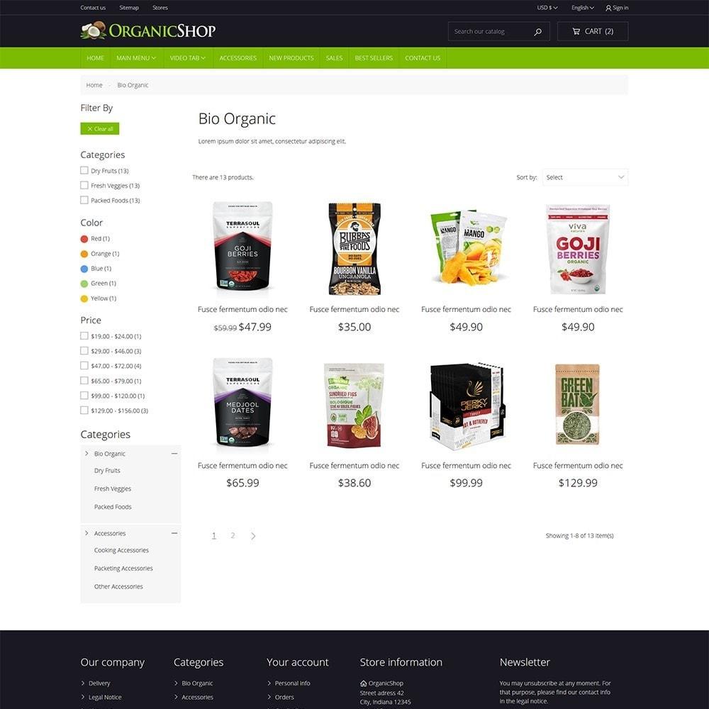 theme - Cibo & Ristorazione - Organic Shop - 6