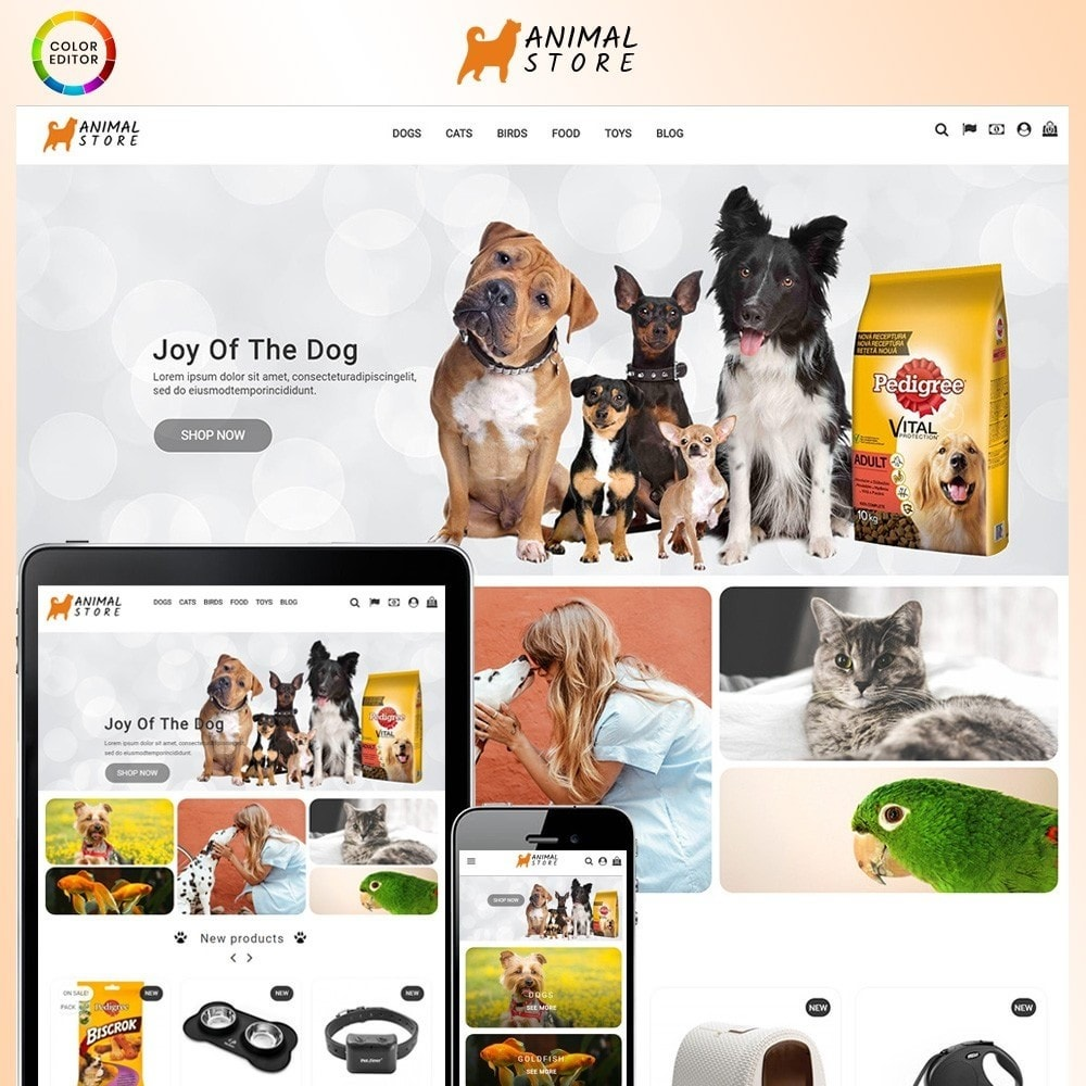 theme - Zwierzęta - Animal Store - 1