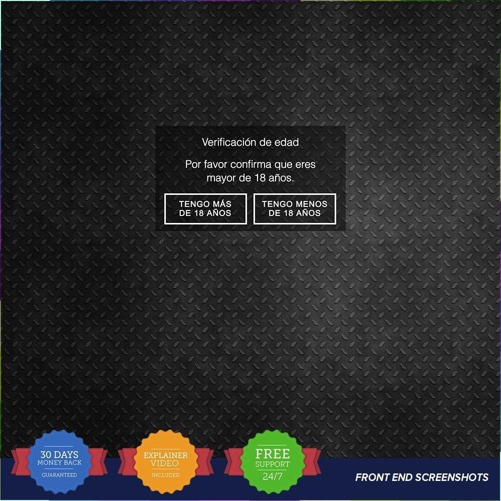 module - Marco Legal (Ley Europea) - Ley para el contenido Adulto – Control de edad PRO - 3