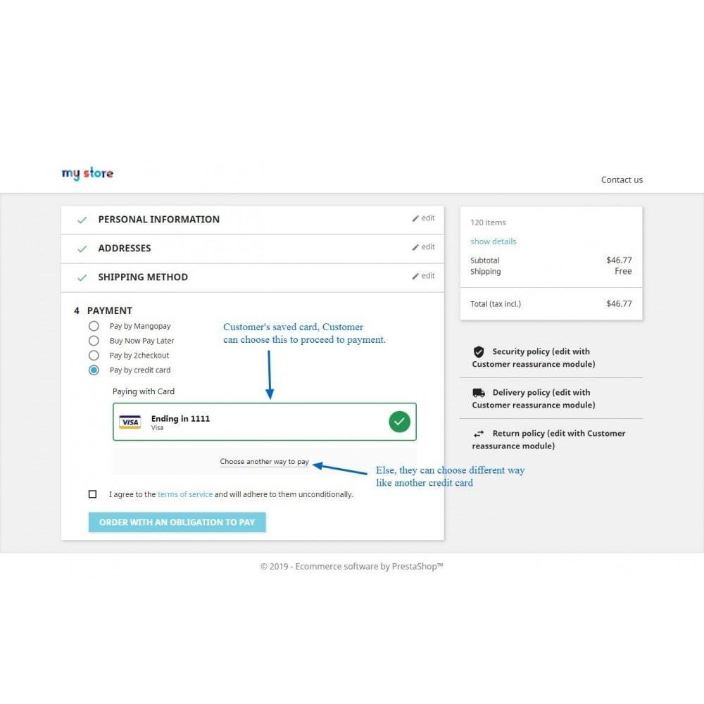 module - Pagamento por cartão ou por carteira - Braintree Payment Method With Refund & Paypal - 11