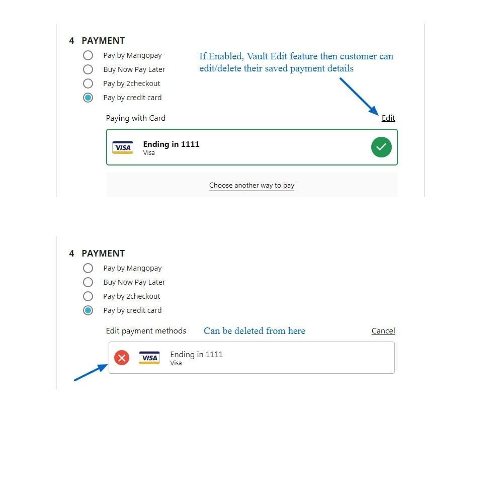 module - Pagamento por cartão ou por carteira - Braintree Payment Method With Refund & Paypal - 12