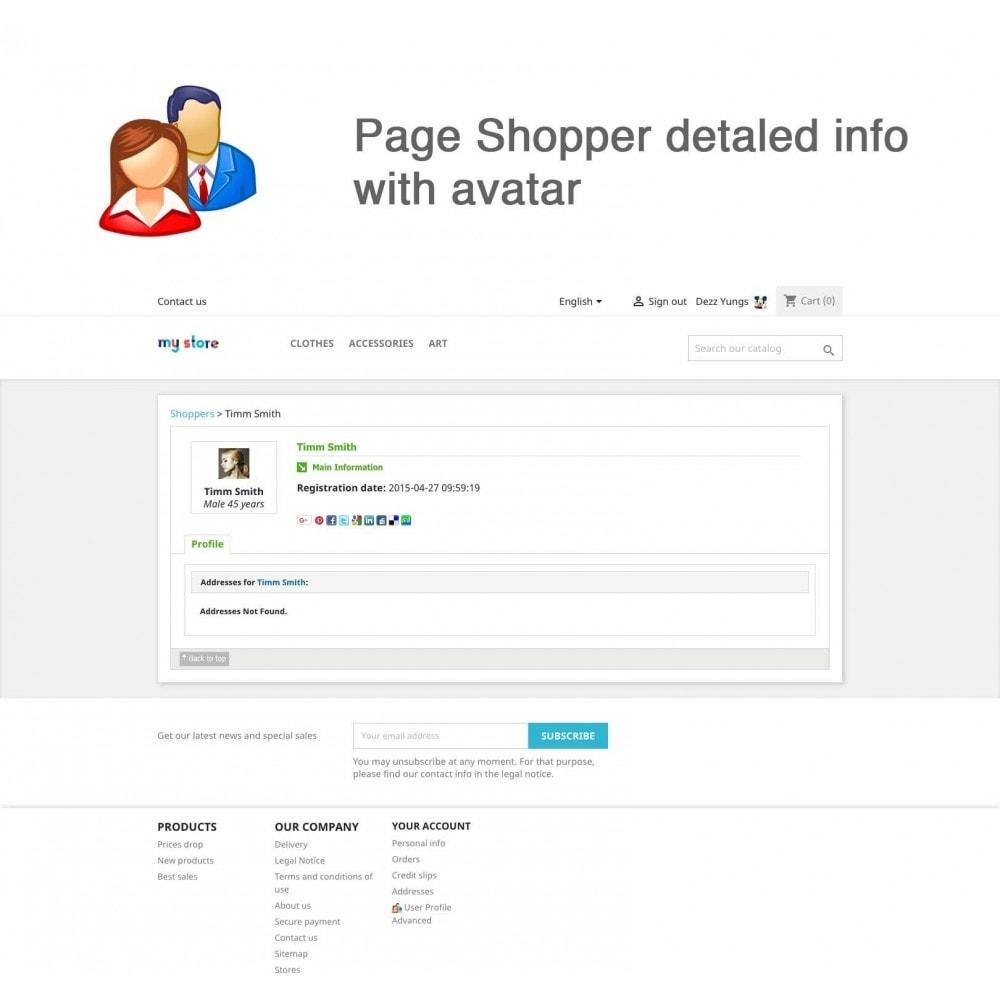 module - Gestione clienti - User Profile Advanced - 3