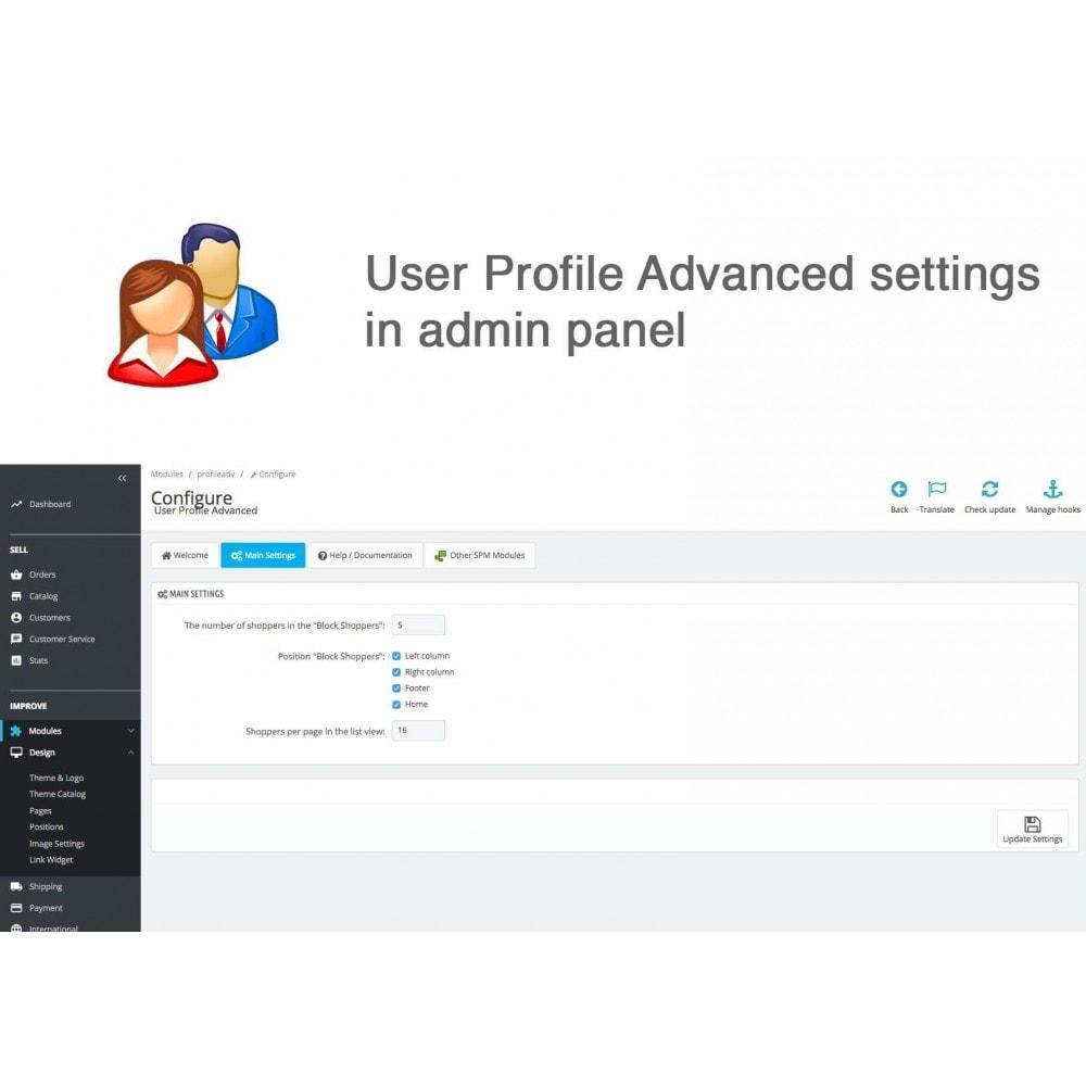 module - Gestione clienti - User Profile Advanced - 9