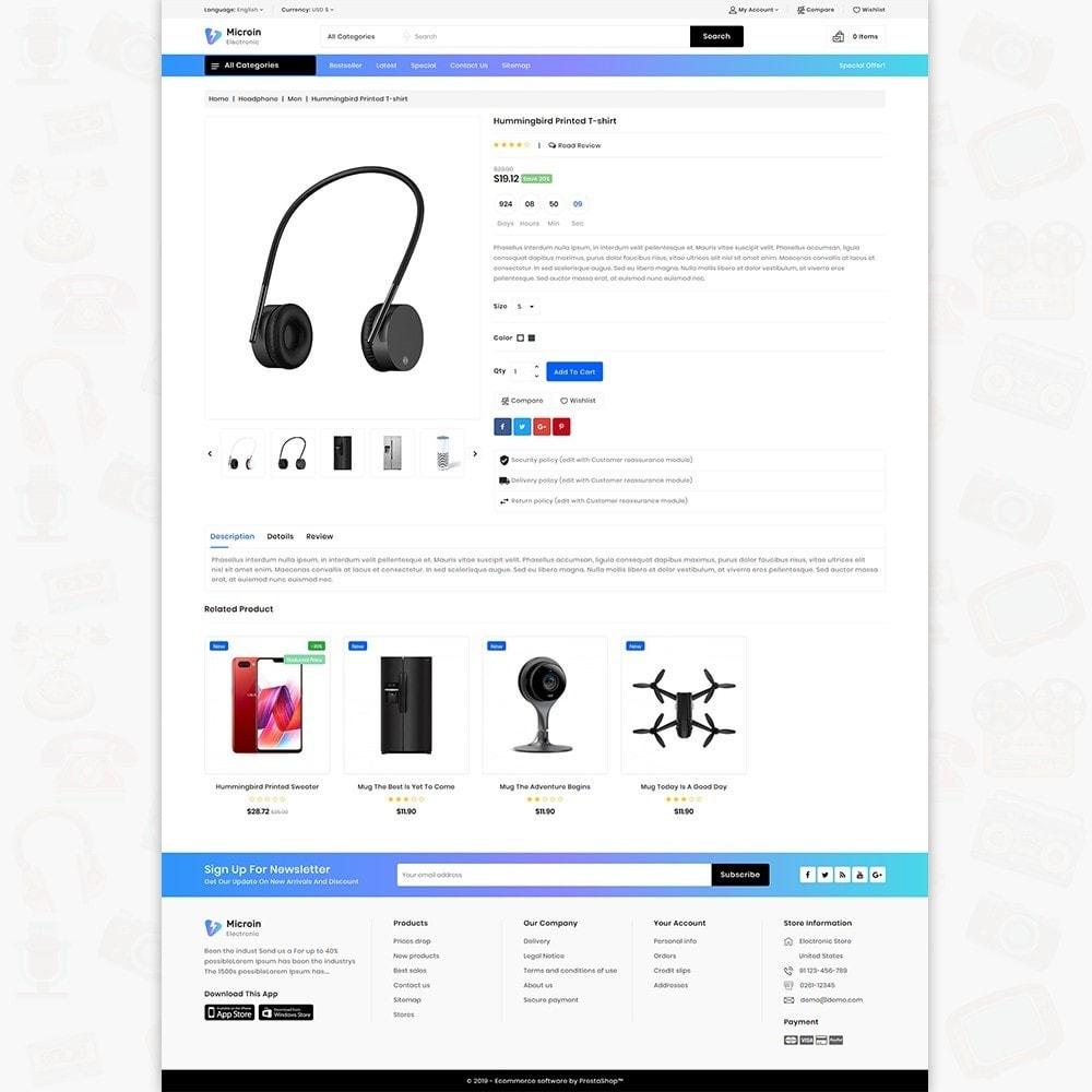 theme - Electrónica e High Tech - Microin - Best Electronics Store - 5