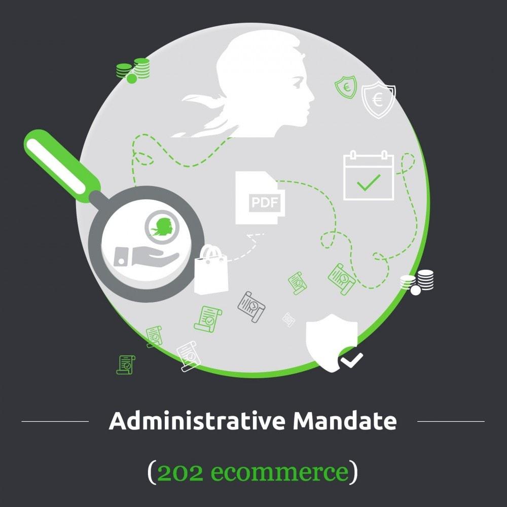 module - Płatność przelewem bankowym - Administrative Mandate - 1