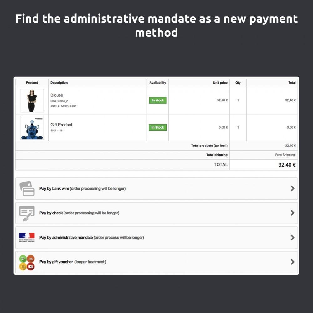 module - Płatność przelewem bankowym - Administrative Mandate - 4