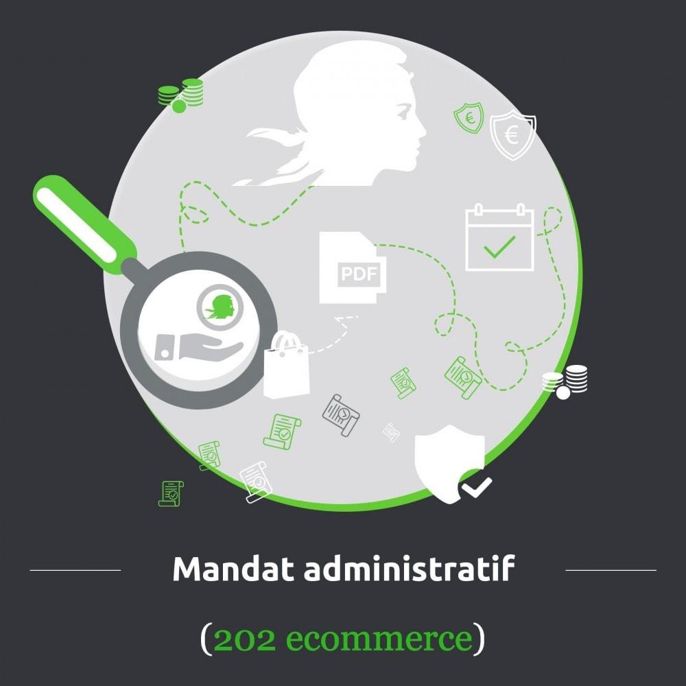 module - Paiement par Transfert Bancaire - Mandat administratif - 1