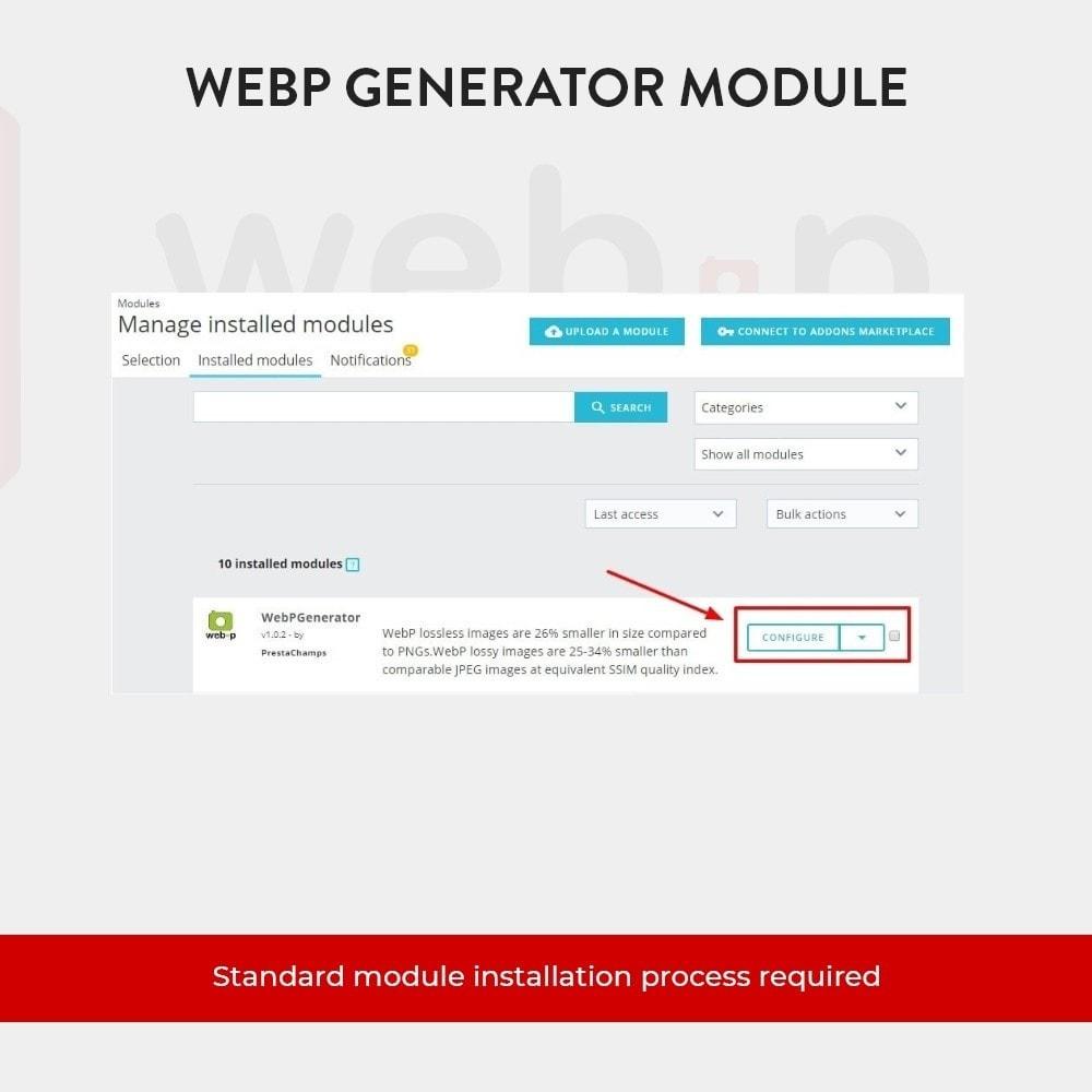 module - Pokaz produktów - Google WebP Image Generator - 2021 Update - 5