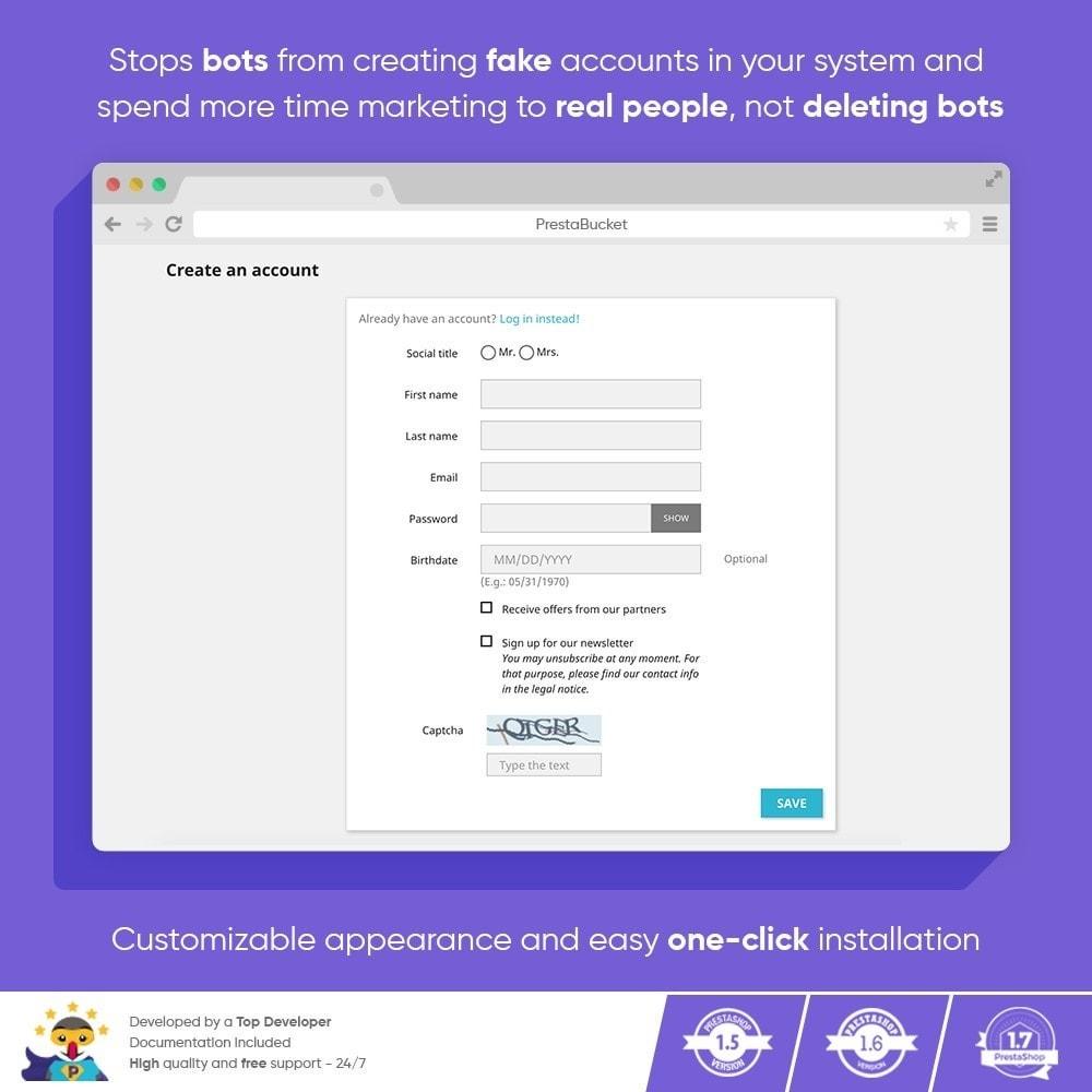 module - Security & Access - Ultimate Math CAPTCHA / Enhanced Anti Spam Security - 7