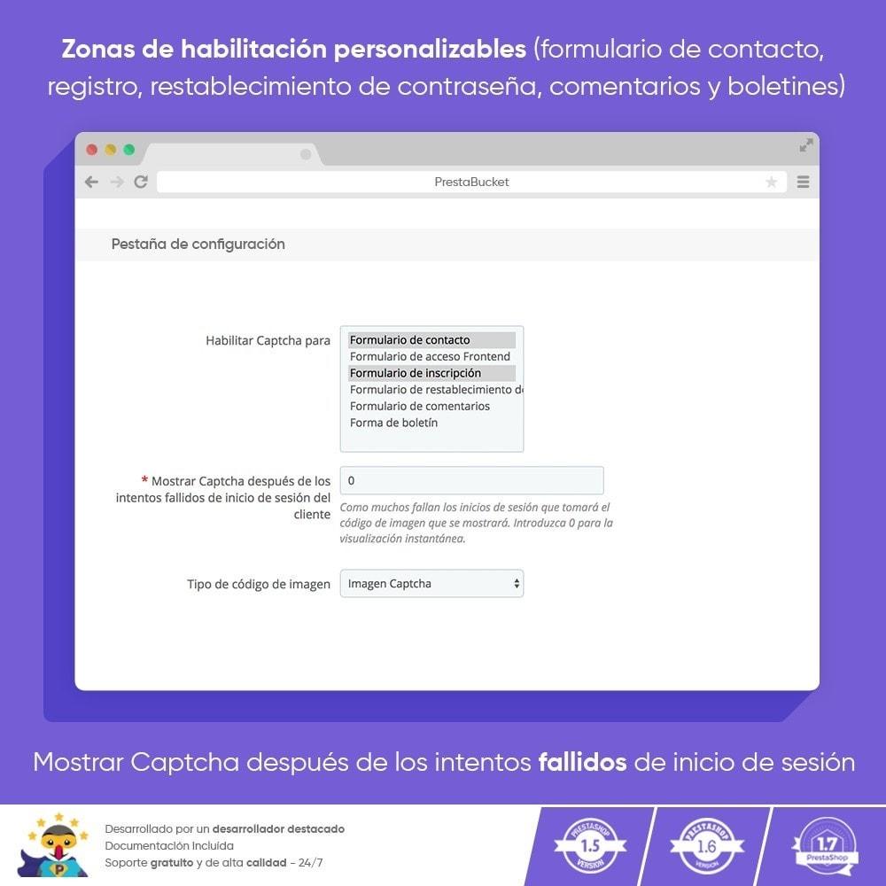 module - Seguridad y Accesos - Ultimate Math CAPTCHA / Seguridad antispam mejorada - 3