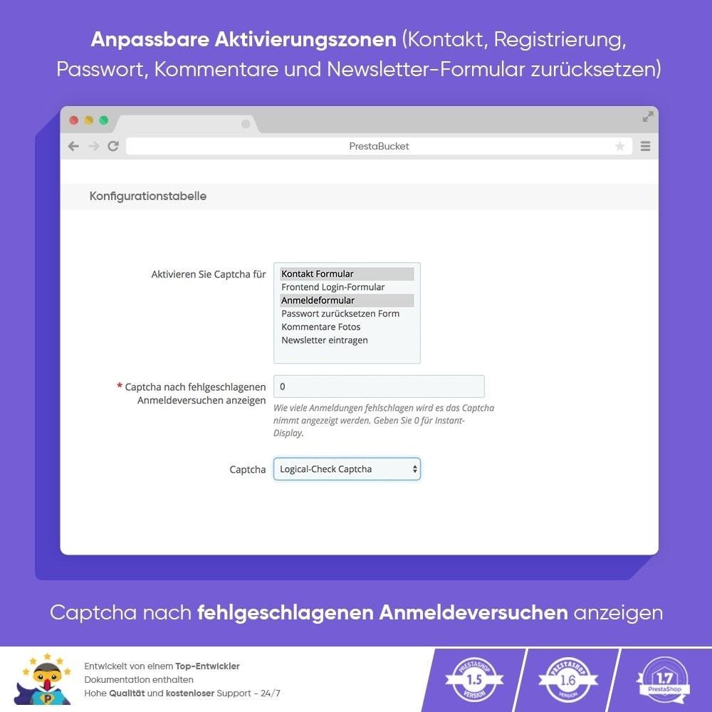 module - Sicherheit & Berechtigungen - Ultimate Math CAPTCHA / Verbesserter Anti-Spam - 3