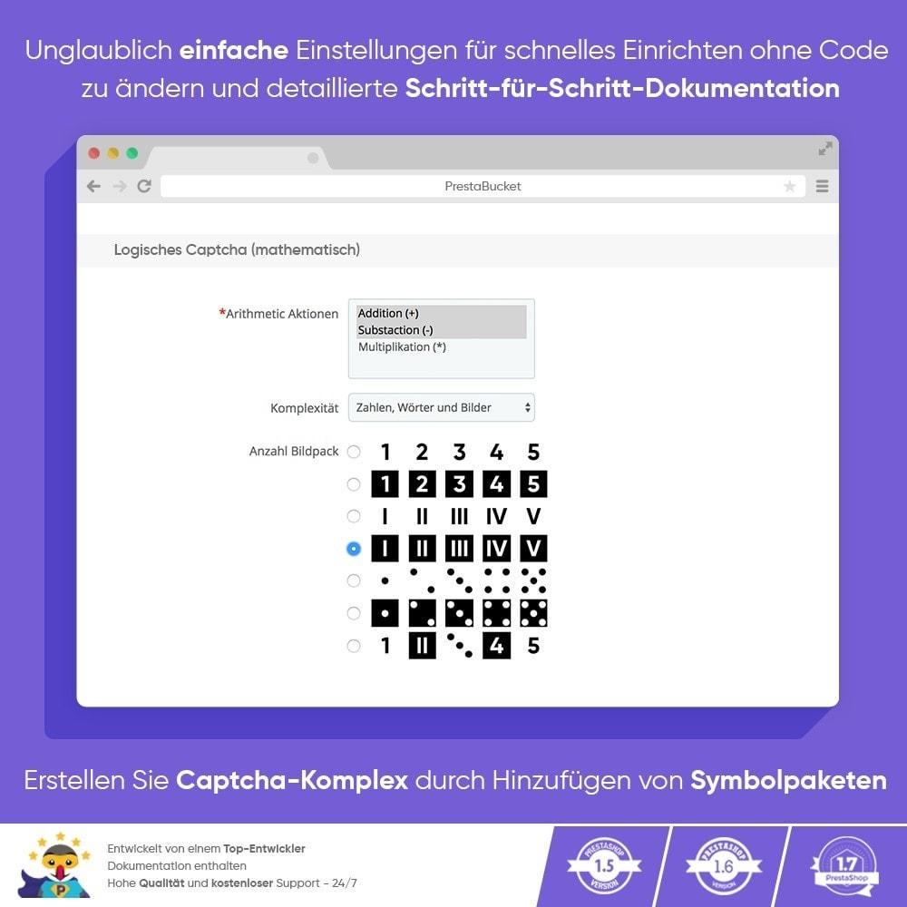 module - Sicherheit & Berechtigungen - Ultimate Math CAPTCHA / Verbesserter Anti-Spam - 4