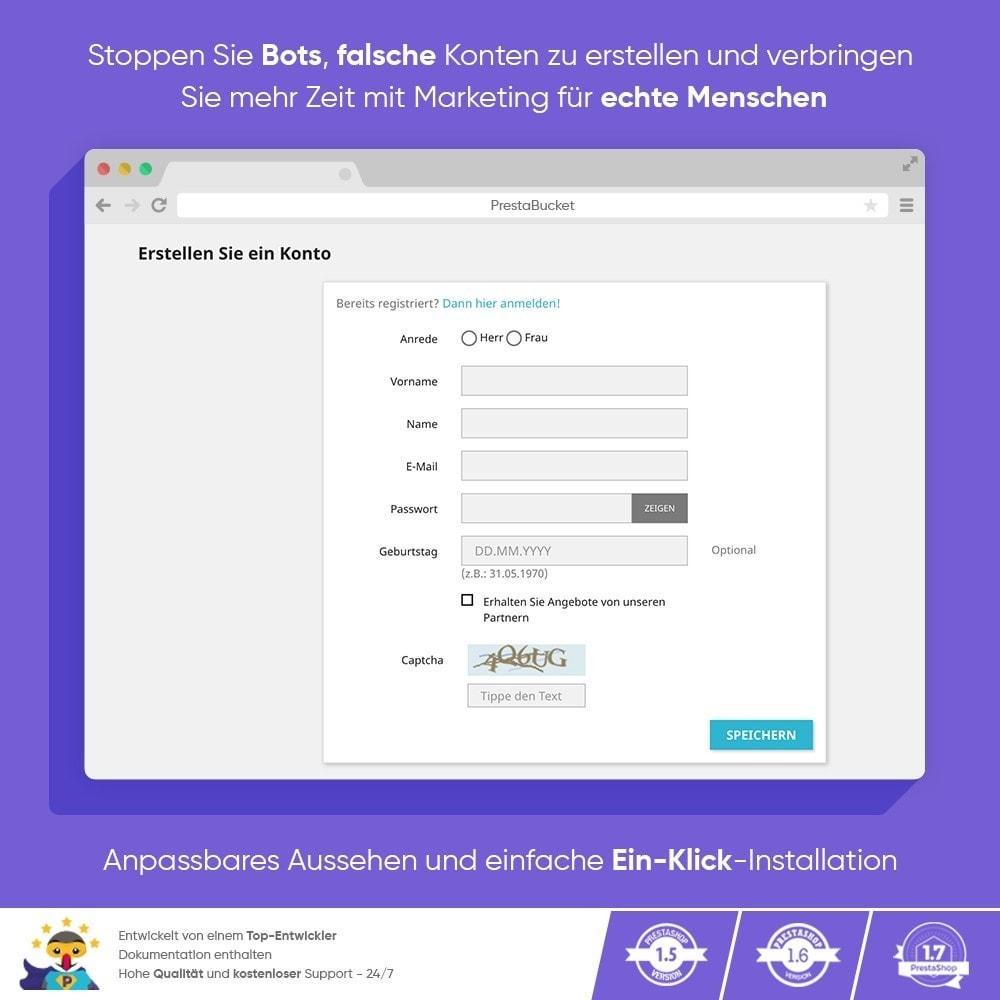 module - Sicherheit & Berechtigungen - Ultimate Math CAPTCHA / Verbesserter Anti-Spam - 7
