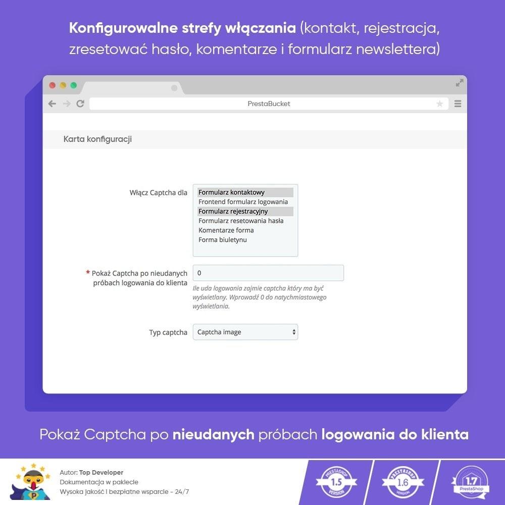 module - Bezpieczeństwa & Dostępu - Ultimate Math CAPTCHA / Enhanced Anti-Spam Security - 3