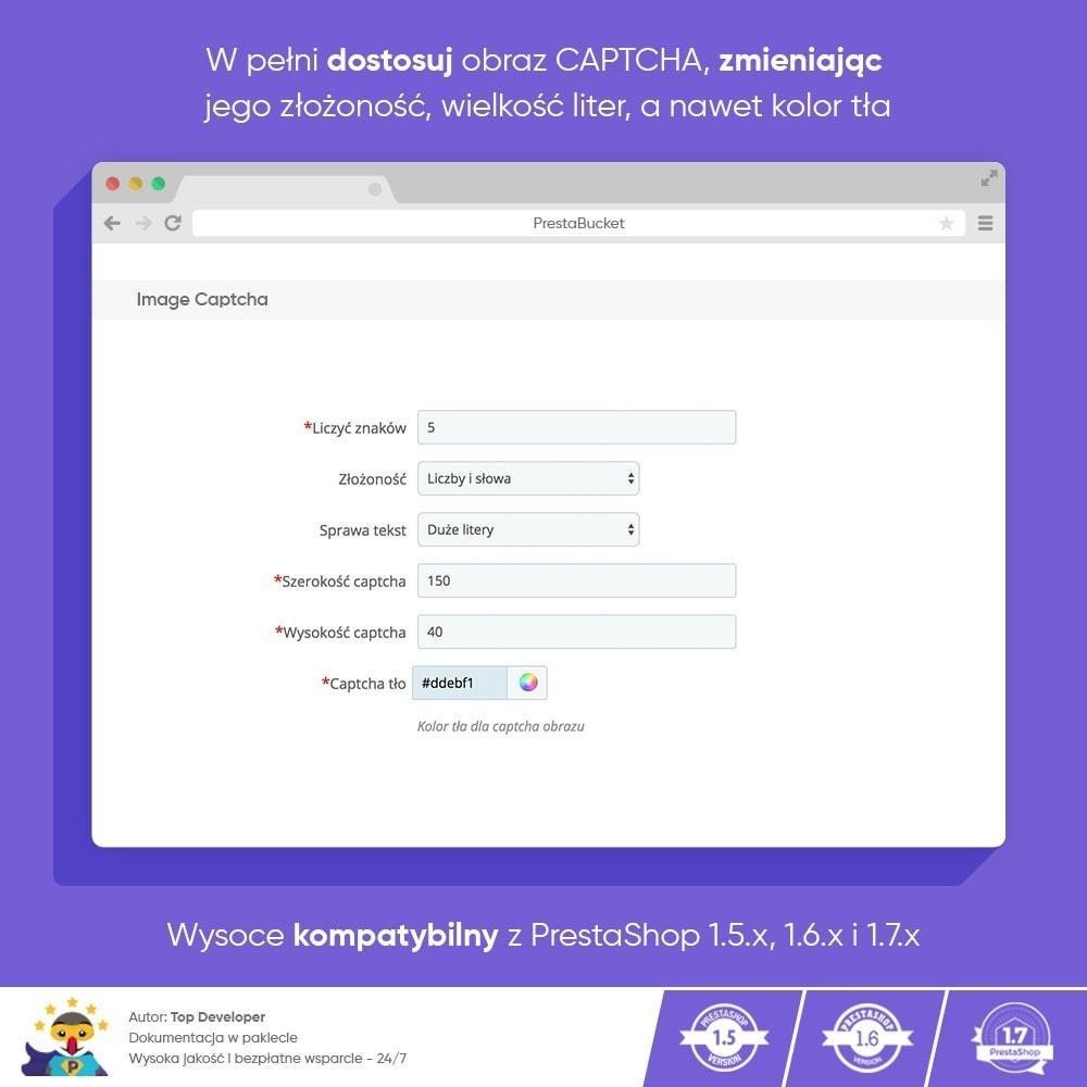 module - Bezpieczeństwa & Dostępu - Ultimate Math CAPTCHA / Enhanced Anti-Spam Security - 5