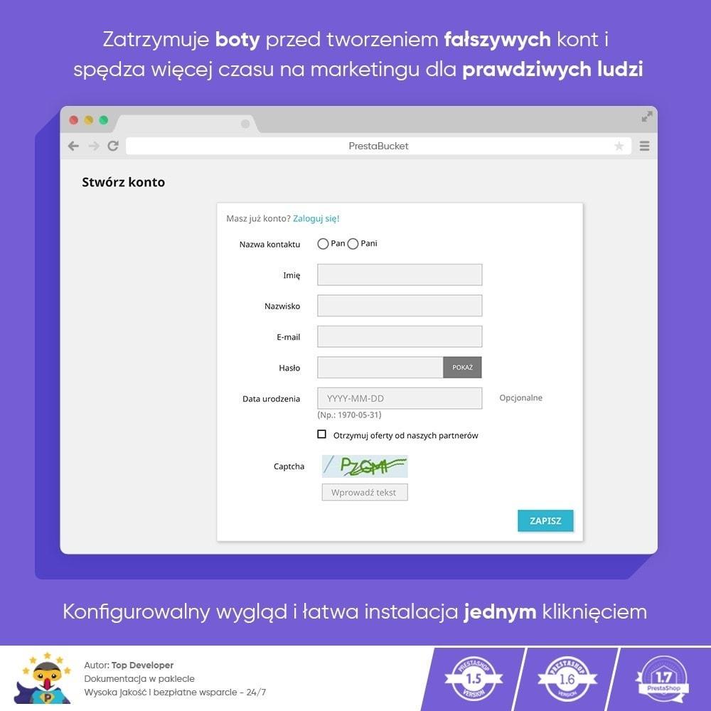 module - Bezpieczeństwa & Dostępu - Ultimate Math CAPTCHA / Enhanced Anti-Spam Security - 7