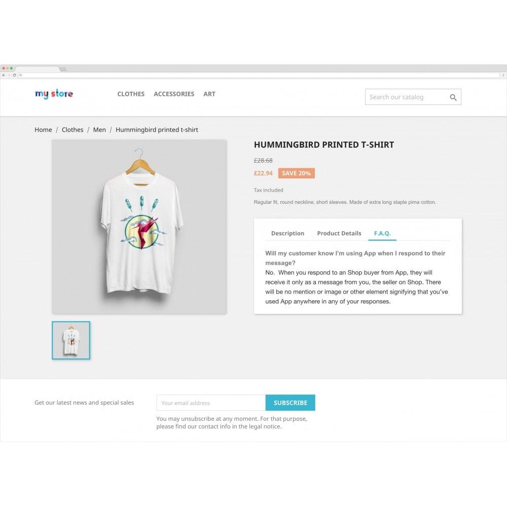 module - Dodatkowe informacje & Zakładka produktu - Custom Product Tabs - 1