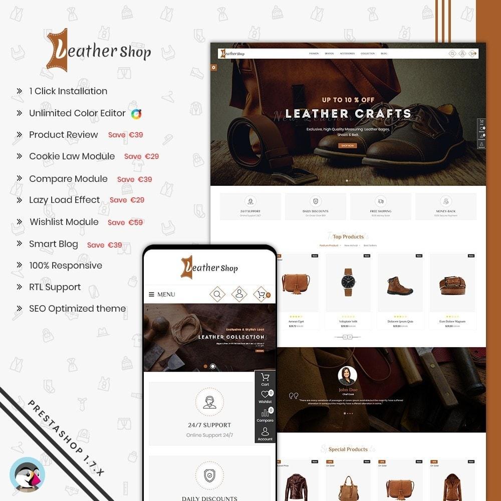 theme - Moda & Obuwie - Leather Shop - 1